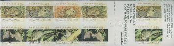 Aus SG1327pa Threatened Species Right band self-adhesive booklet pane (SB78)